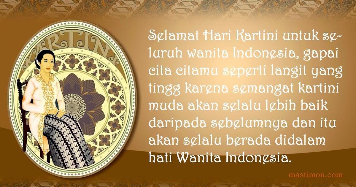 Kumpulan Kartu ucapan hari Kartini 2019 terbaru untuk Ibu ...