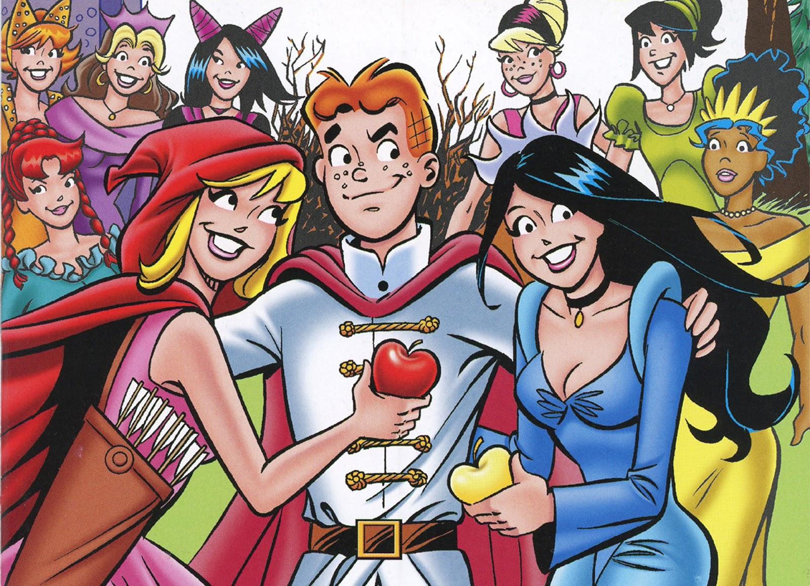 Archie Vintage Comic Wallpaper