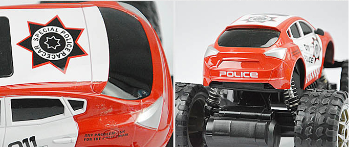 Xe ô tô cảnh sát 5588-106