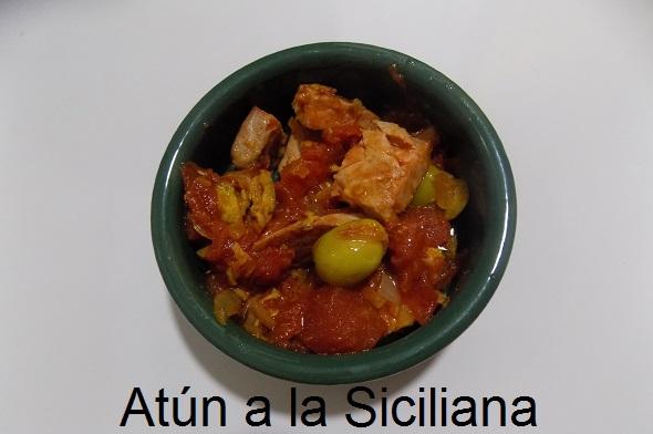 Atún a la Siciliana