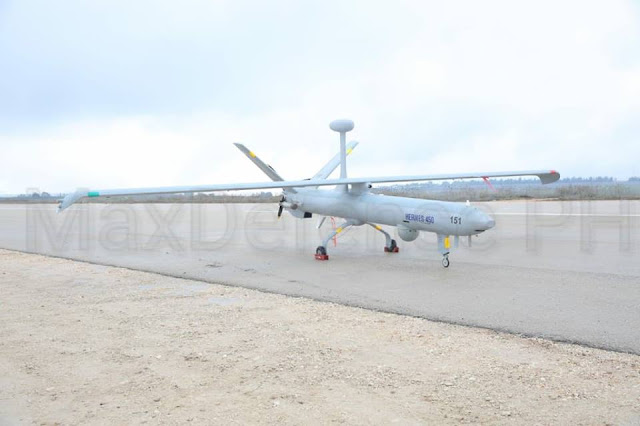 The Elbit Hermes 450 MALE UAS of the Philippine Air Force