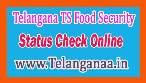 Telangana TS Food Security (Ration card ) Status Check Online Telangana Ration Card Status