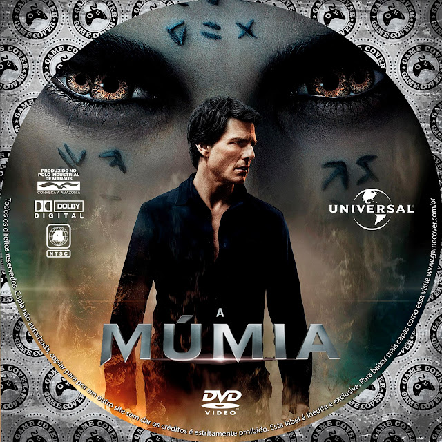 Label DVD A Múmia 2017 [Exclusiva]
