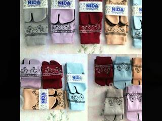 Grosir kaos kaki merk NIDA