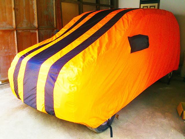 Jual Cover Mobil Model Orange custom menggunakan bahan yang bagus waterproof import korea Sarung Mobil kualitas super kombinasi warna Selimut Mobil harga murah produk terbaik penutup mobil dan pelindung mobil anda dari debu, panas matahari, tahan air dan panas