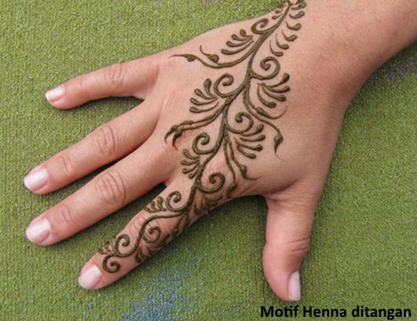 Gambar Henna Ditangan