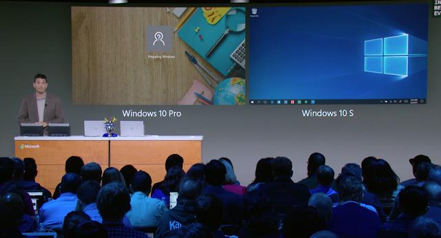 ما الجديد في نظام الويندوز الجديد (Windows 10 S) ؟ و إليك أهم ما طرحته المايكروسوفت في مؤتمرها