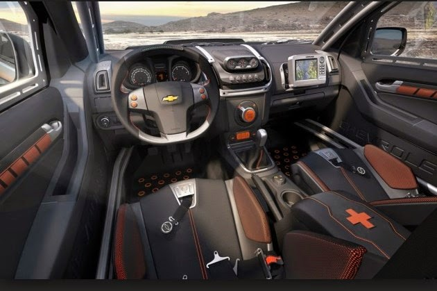 2016 Chevrolet Colorado Zr2 Interior