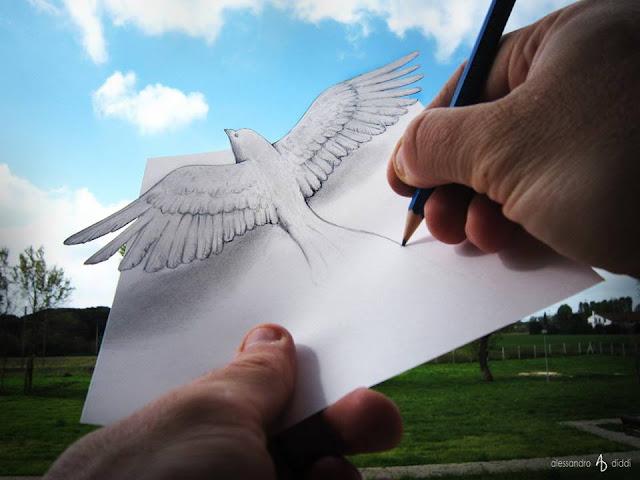 ilusi gambar 3d yang keren dan menakjubkan serta kreatif-10