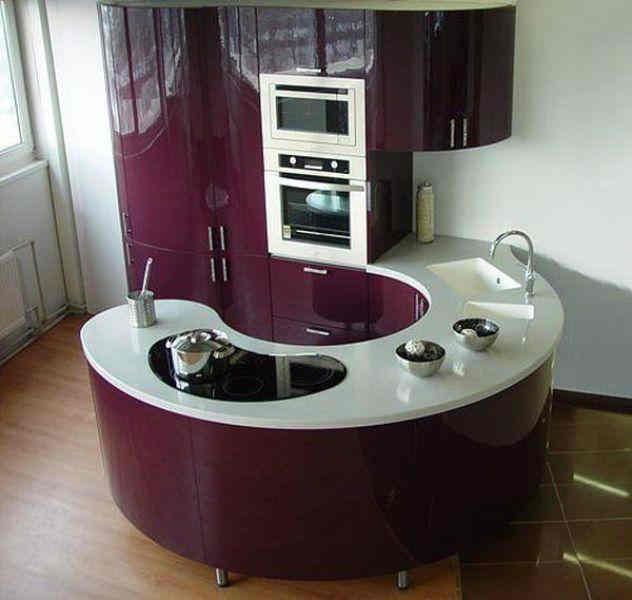 modern Kitchen design ideas: Space saving Kitchens design