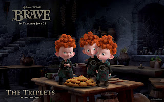 Disney's Brave Characters The Triplets HD Wallpaper
