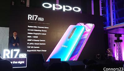 Oppo R17 Pro Specs