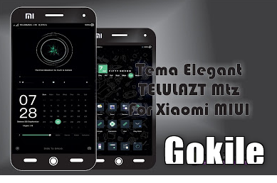 Tema Telulazt Mtz Terbaru For Xiaomi Tampilan Elegant, Kumpulan Tema Elegant Xiaomi, Tema Gelam Xiaomi, Tema Mtz,