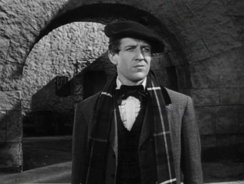 Donald Fettes (Russell Wade) en El ladrón de cadáveres. The Body Snatcher - Cine de Escritor