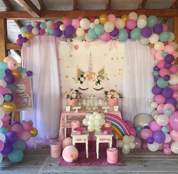 12 Ideas Para Un Baby Shower De Unicornio