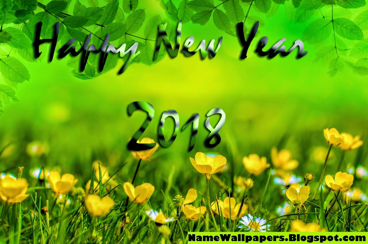 download wallpaper new year 2018