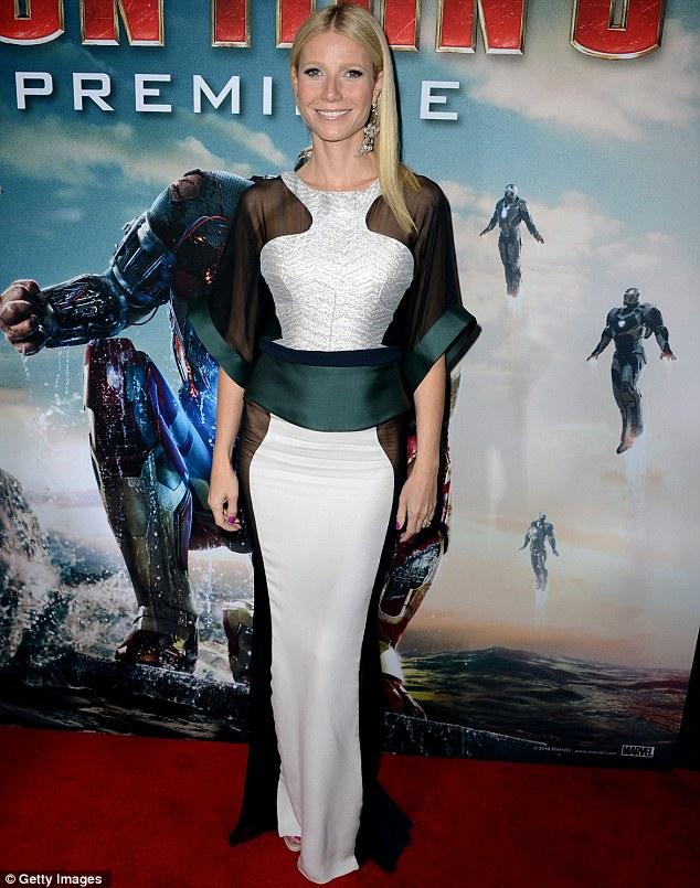 Gwyneth Paltrow Stuns Iron Man 3 Premiere With Her Super