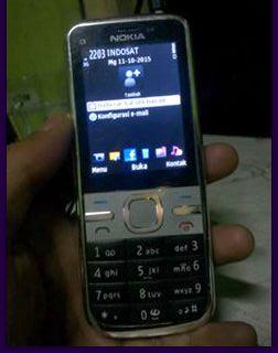 Spesifikasi Nokia C5-002 Symbian OS v9.3