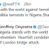 London Terror Attack: FFK Slams Minister of Foreign Affairs, Geoffrey Onyeama for standing with UK