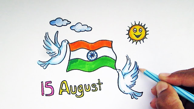 Drawing on Independence Day