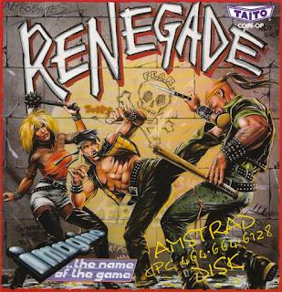 Portada videojuego Renegade