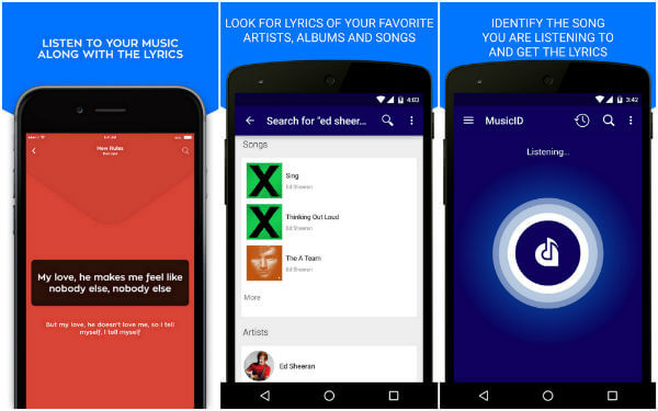 Song Finder App for Android and iPhone