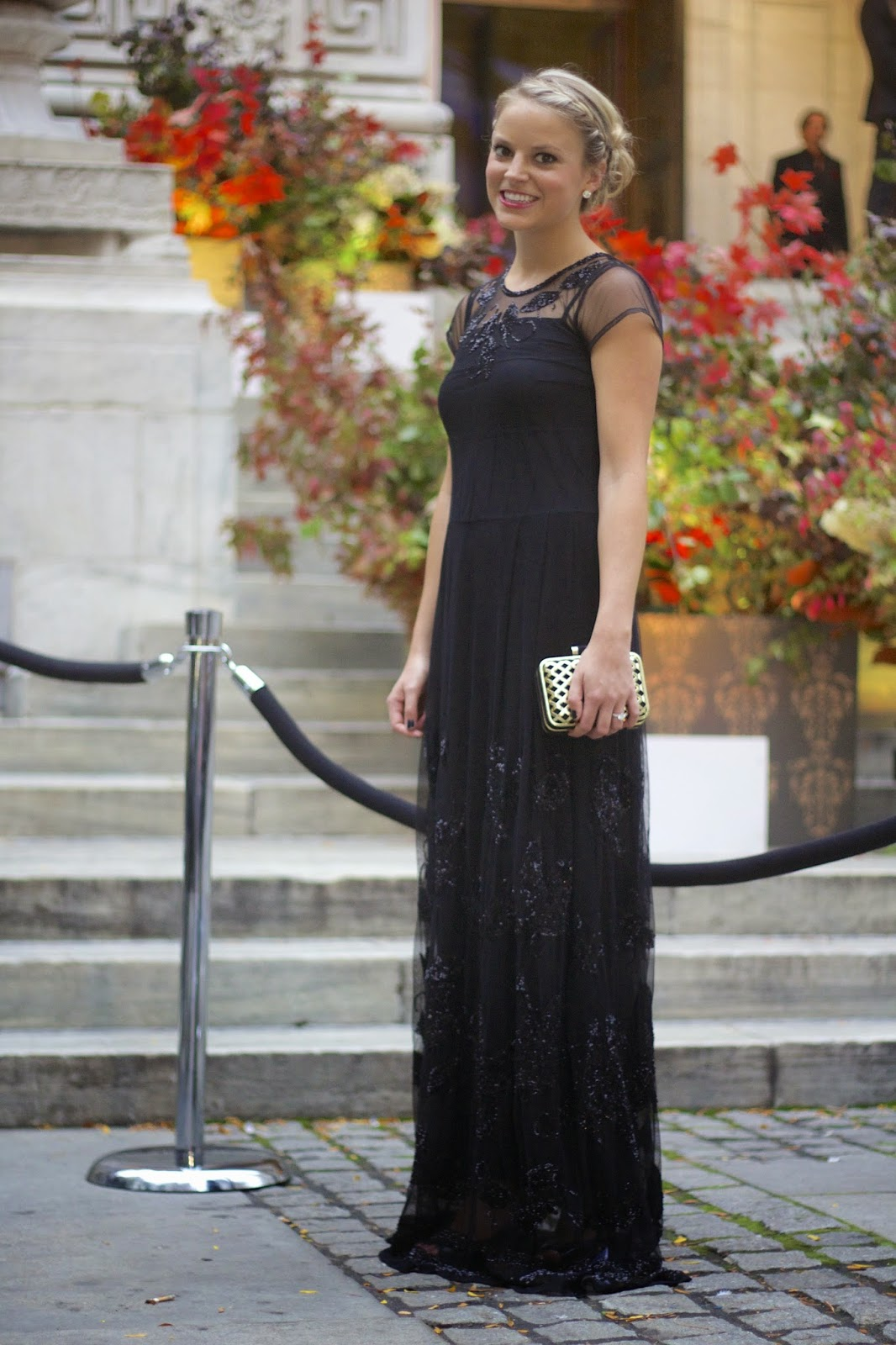 Sequined Maxi Dress What To Wear A Black Tie Wedding Attire