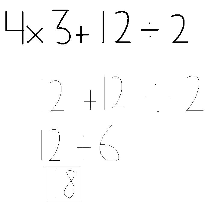 772-2011: Order of Operations