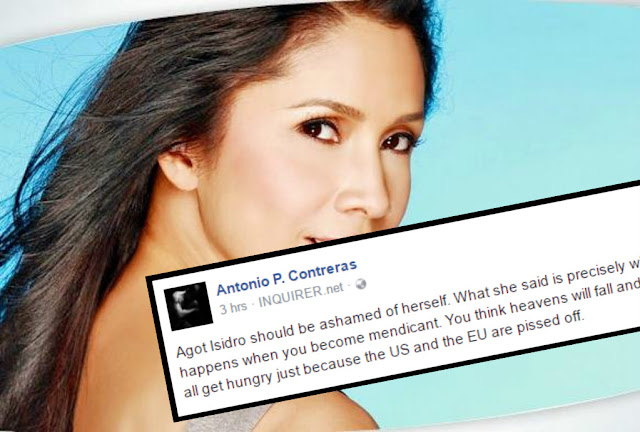 DLSU professor slams Agot Isidro: You should be ashamed of yourself