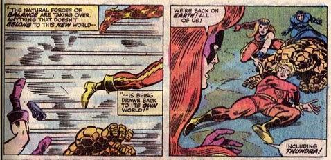 Fantastic Four 153-Medusa-Mahkizmo-Thundra