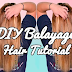 Sweet Hair Color Idea for Brunettes - DIY Balayage Hair Tutorial