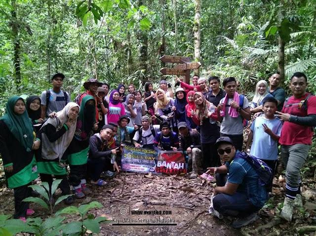 Program Hiking Gabungan 2 Hill 1 Day Hikers Tawau, Lahad Datu Dan Sandakan Anjuran Muslimah Hikers Sempena Boikot Pesta Arak