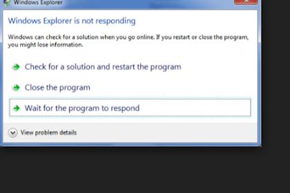 Cara Menghentikan Program/Aplikasi/Game Yang Not Responding Di Laptop