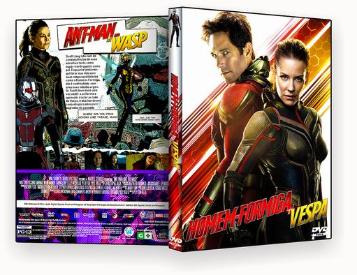 CAPA DVD – Homem Formiga E A Vespa DVD-R