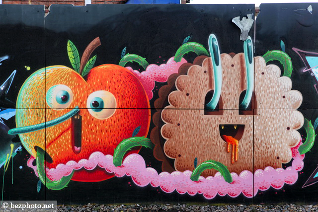 флакон граффити
