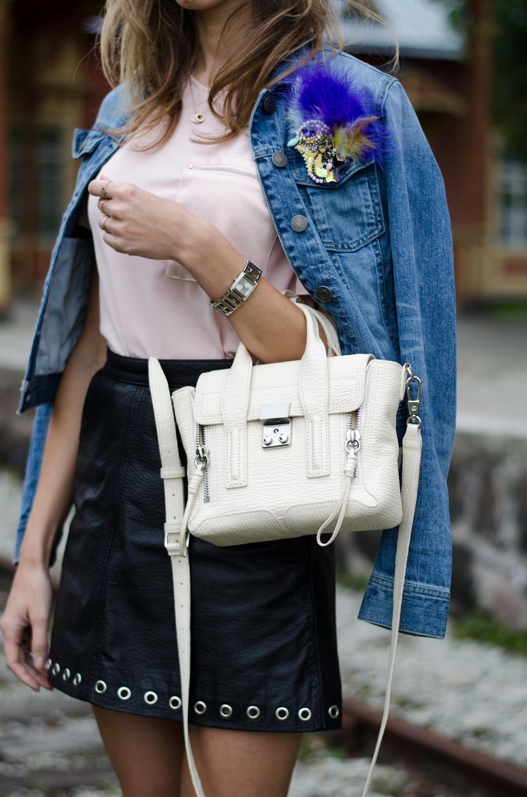 3.1 phillip lim mini pashli bag outfit