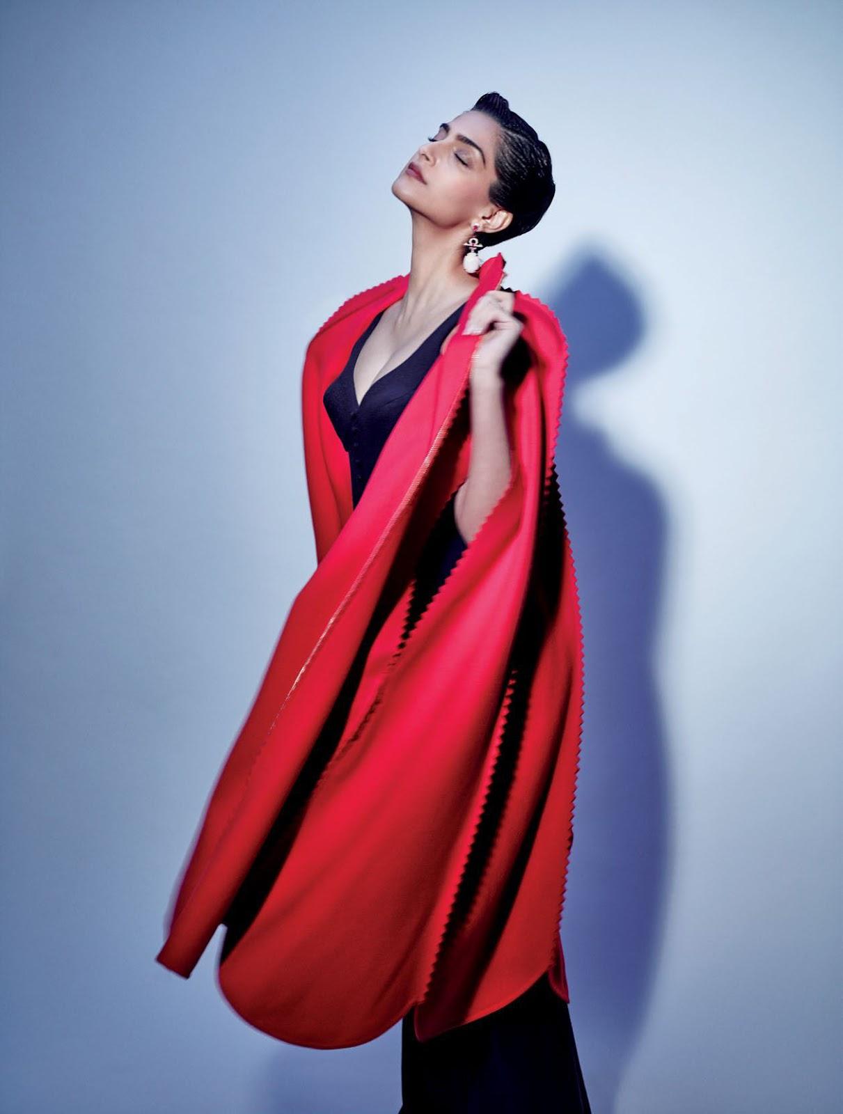 Sonam Kapoor Super Hot In Elle India Septiembre 2016-1204