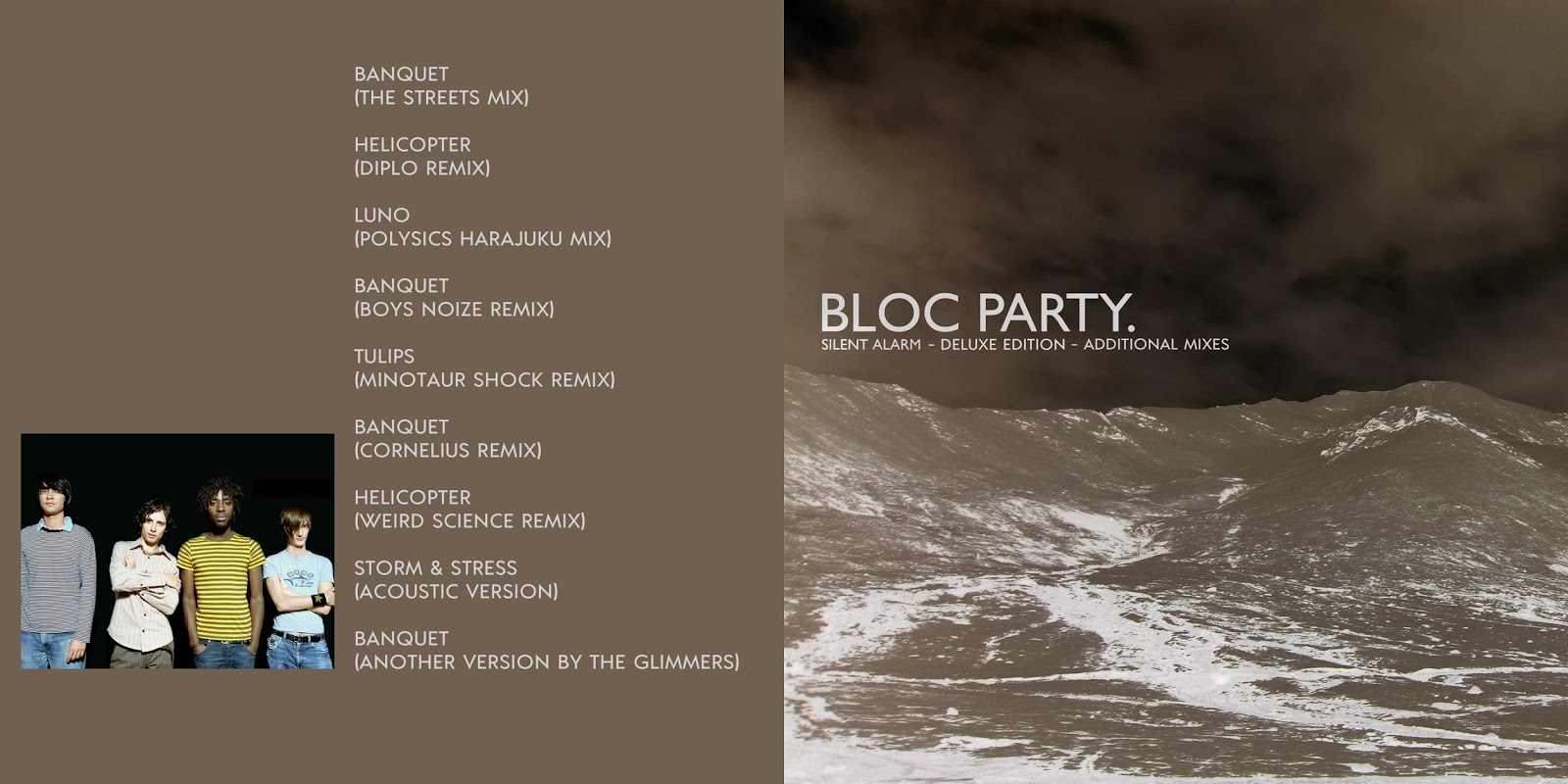 All The Air In My Lungs Bloc Party Silent Alarm 2004