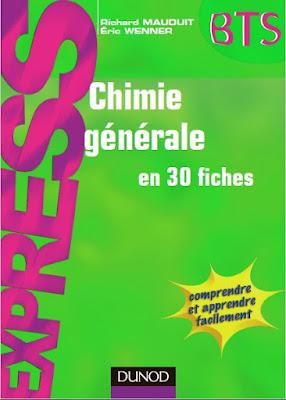 Télécharger Livre Gratuit Chimie générale en 30 fiches pdf