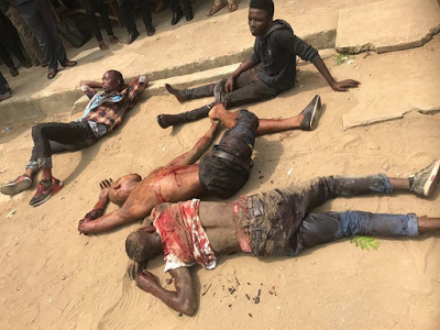 Three armed robbers killed during gun duel with police in Calabar