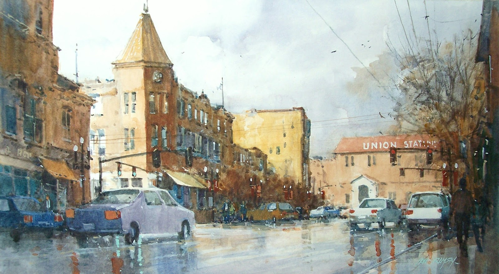 Ian Ramsay Watercolors As I Have Mentioned Before