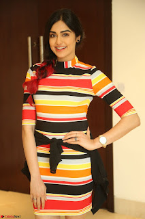 Adha Sharma in a Cute Colorful Jumpsuit Styled By Manasi Aggarwal Promoting movie Commando 2 (130).JPG