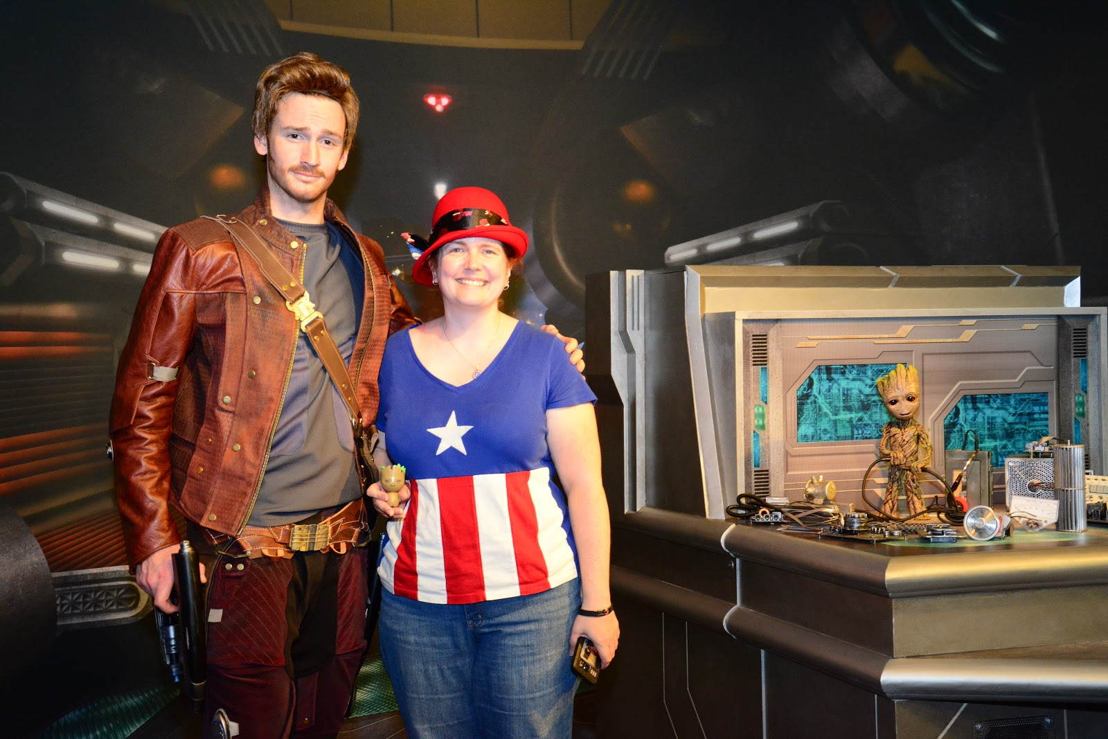 Disney at heart star lord and baby groot meet and greet did you know that you can meet star lord and baby groot at disneys hollywood studios they are currently meeting guests in a guardians of the galaxy themed kristyandbryce Choice Image
