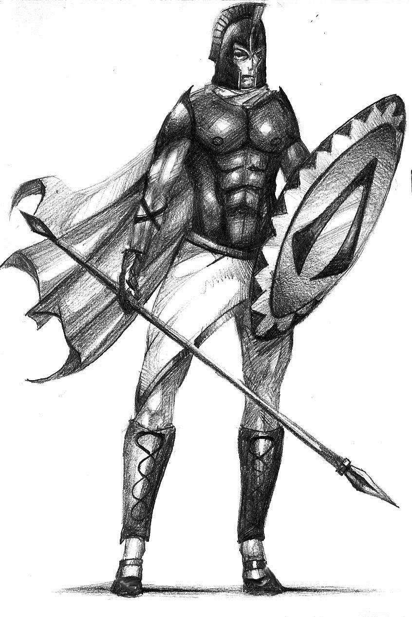 The spartan warriors