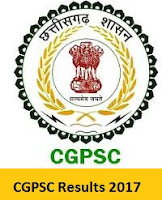 CGPSC Results 2017