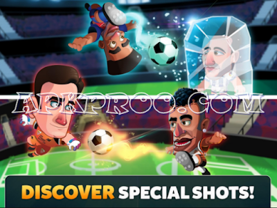 Download Head Soccer Mod La Liga 2017 Apk + Data For Android