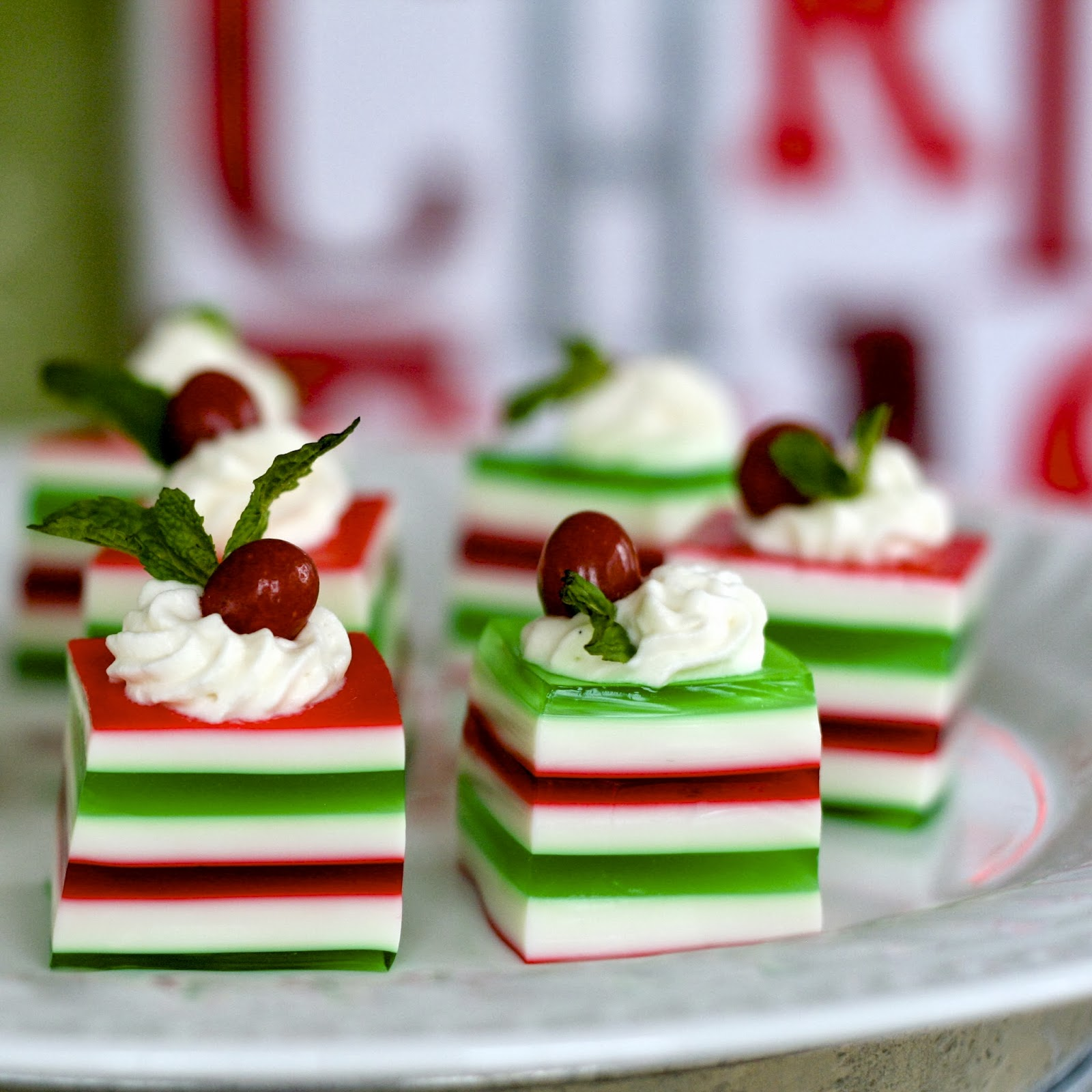 C Is For: Christmas Jelly Shots