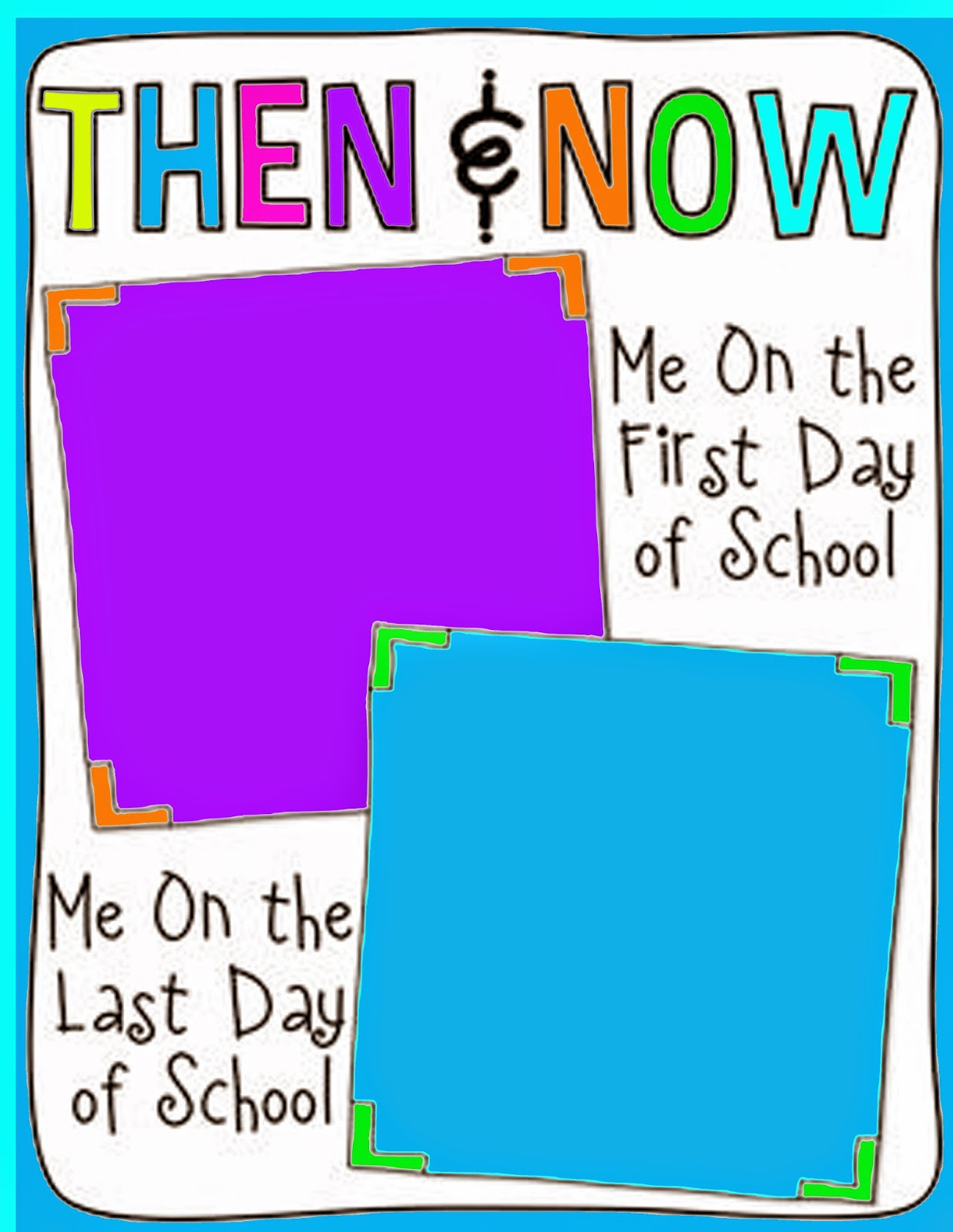 Connie York Free Printables First Amp Last Day Of School