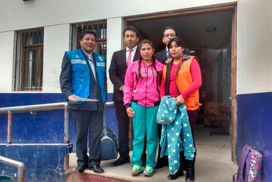 Joven peruana era explotada y maltratada en Villazón