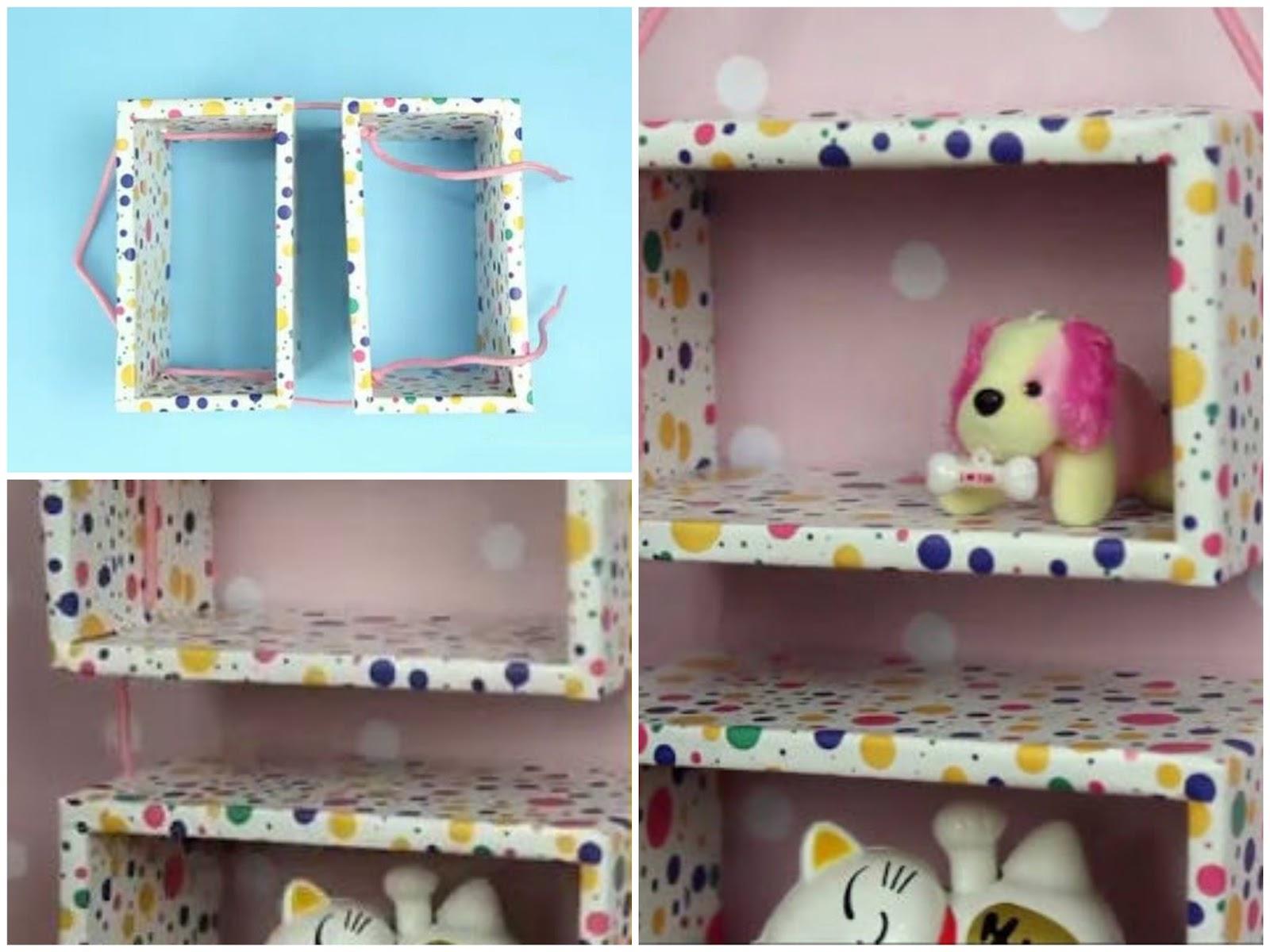 Estanterias con cajas de carton for Estantes de carton